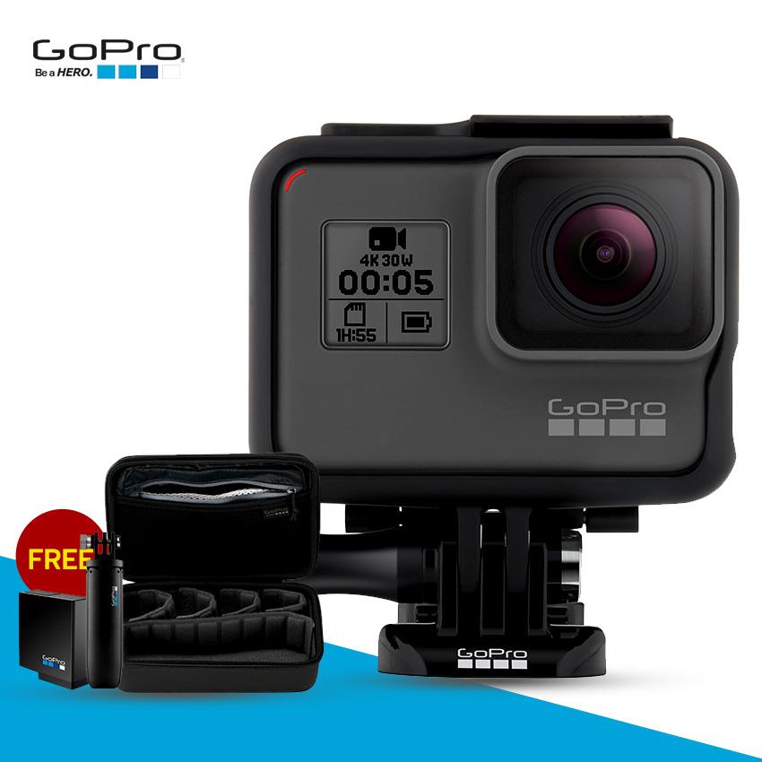 Gopro 5 แถมฟรี GoPro Shorty ,GoPro Casey และ แบตเสริม GoPro