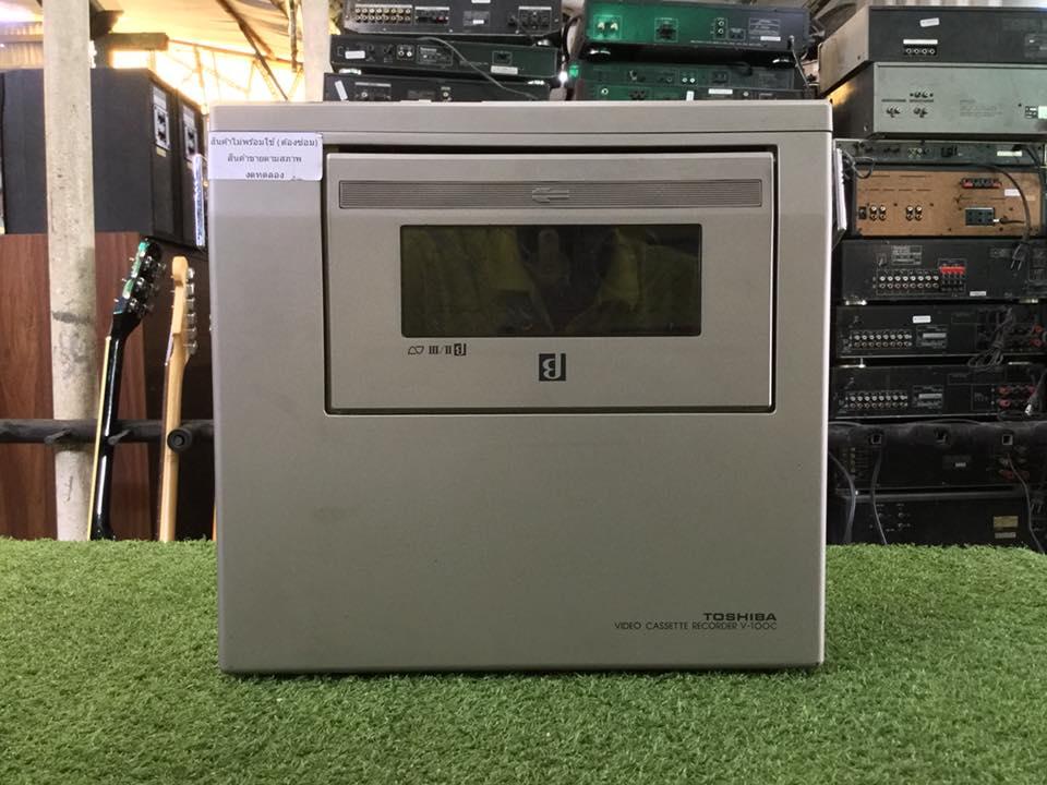 วิทยุ FM AM TOSHIBA V-100C สินค้าไม่พร้อมใช้งาน (ต้องซ่อม)