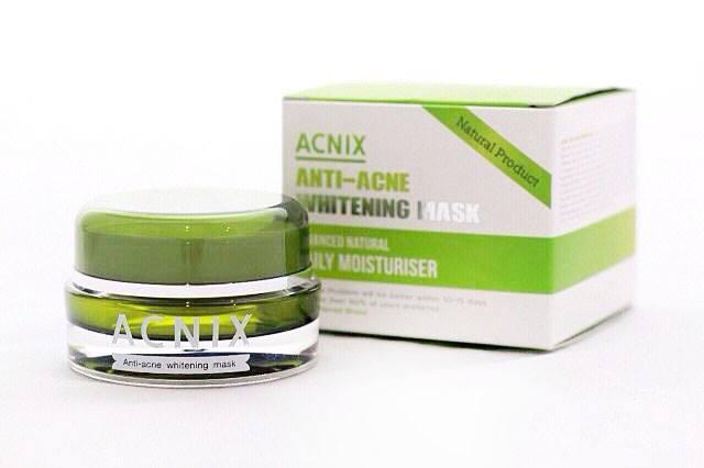 Acnix Anti-acne Whitening Mask แอคนิกซ์ แอนตี้ แอคเน่ ไวท์เทนนิง มาส์ค มาส์คลดสิว