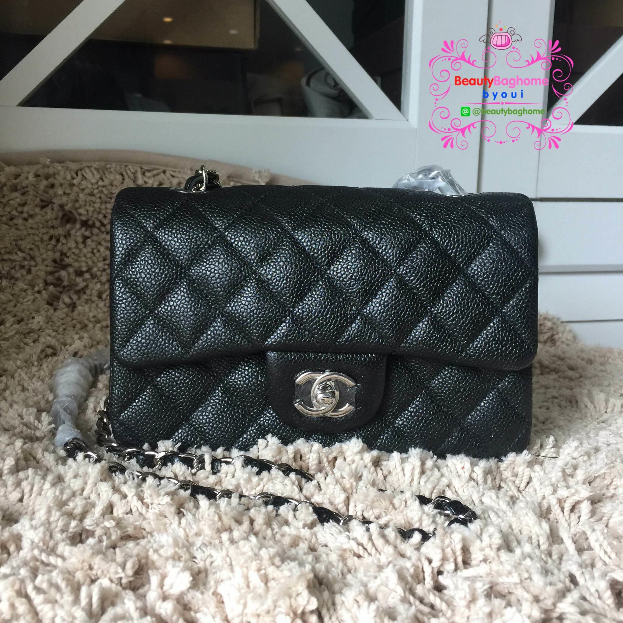 Chanel Classic Flap mini สีดำ งานHiend Original