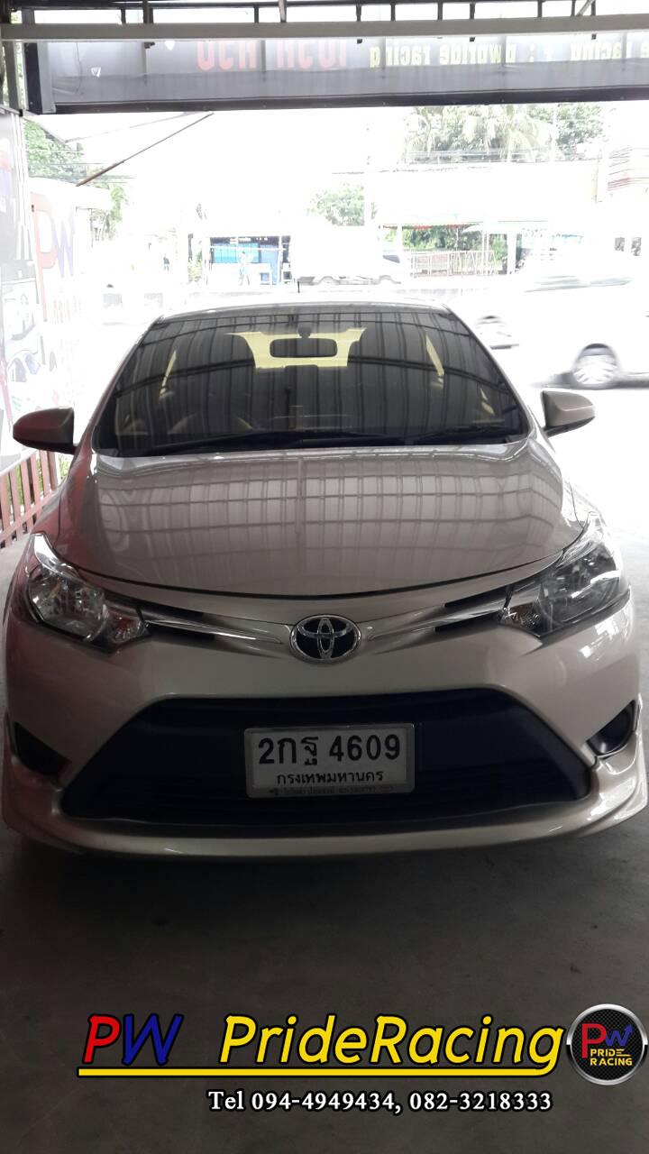 Toyota Vios ใส่ ท่อJs ใบสั้น