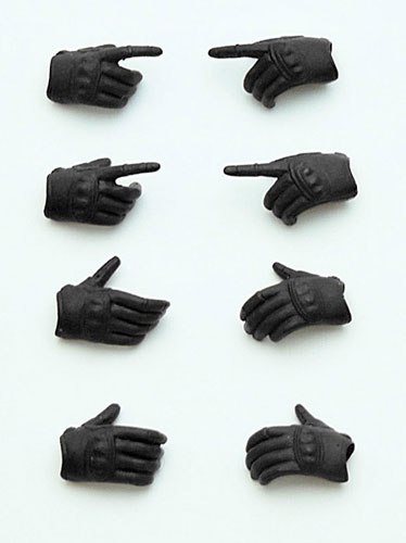 "LittleArmory-OP03: figma Tactical Gloves ""Stealth Black""(Pre-order)"