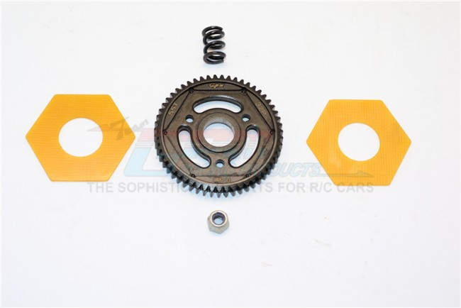 STEEL#45 SPUR GEAR (55T) - 1PC SET (FOR SCX10 II, SMT10 MONSTER JAM AX90055)