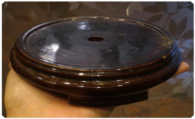 กี๋ไม้จีนเก่า วงใน 11 cm.