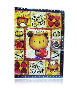 Cutie Card Pocket สมุดใส่นามบัตรพร้อมปกพลาสติกอย่างดี มีช่องใส่บัตรได้ถึง 10 ใบ
