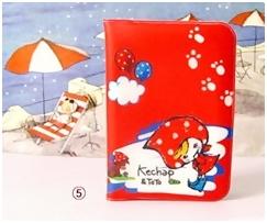 สมุดใส่นามบัตร Cutie Card มีช่องให้ใส่การ์ด หรือบัตรสำคัญได้ถึง 12 ใบ ลายน่ารักมากค่ะ