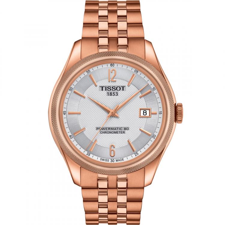นาฬิกาผู้ชาย Tissot รุ่น T1084083303700, T-Classic Ballade Powermatic 80 COSC Men's Watch