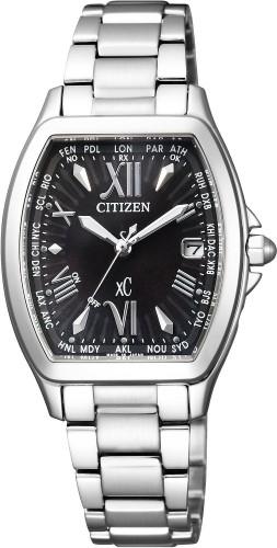 นาฬิกาข้อมือผู้หญิง Citizen Eco-Drive รุ่น EC1100-56E, Radio World Time Japan Sapphire