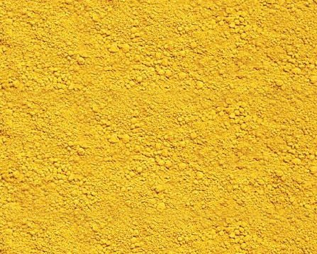 สี iron oxide yellow