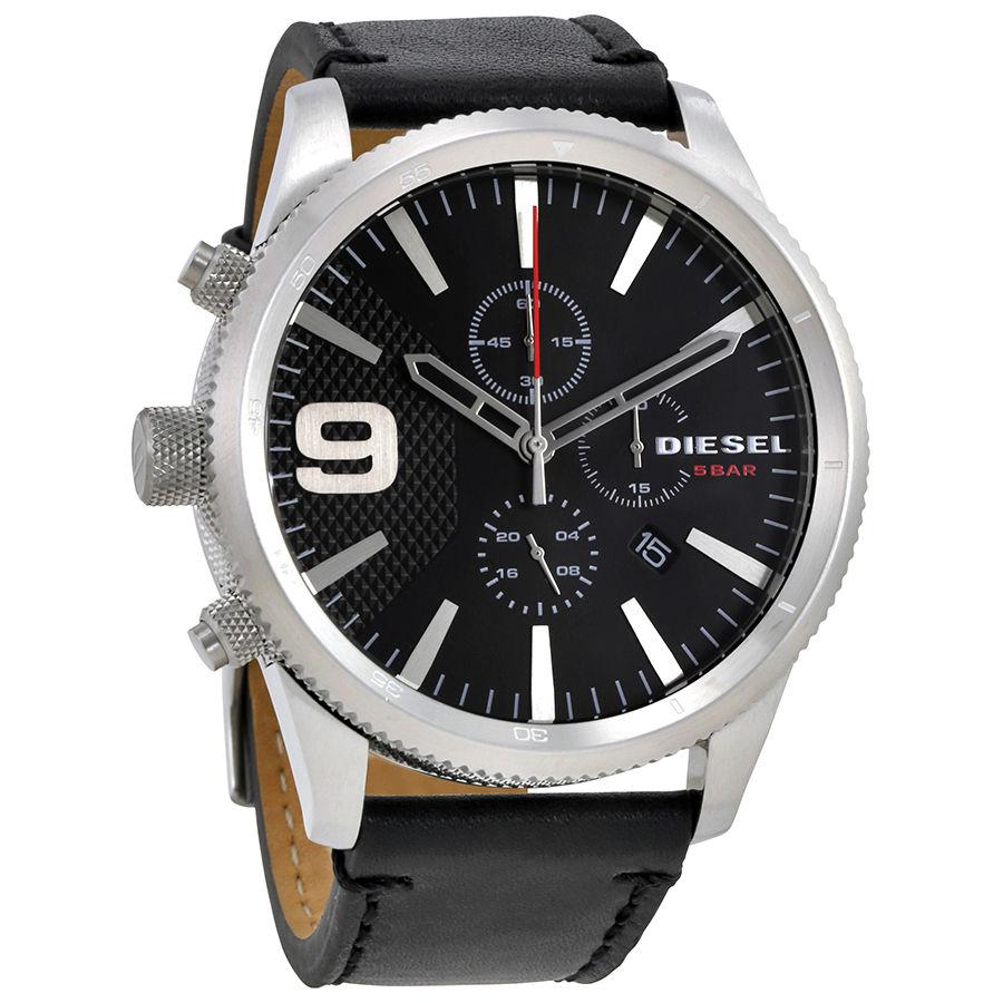 นาฬิกาผู้ชาย Diesel รุ่น DZ4444, Rasp Black Dial Chronograph