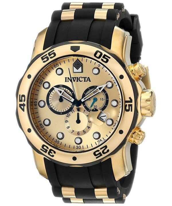 นาฬิกาผู้ชาย Invicta รุ่น INV17885, Invicta Pro Diver Quartz Chronograph 200M
