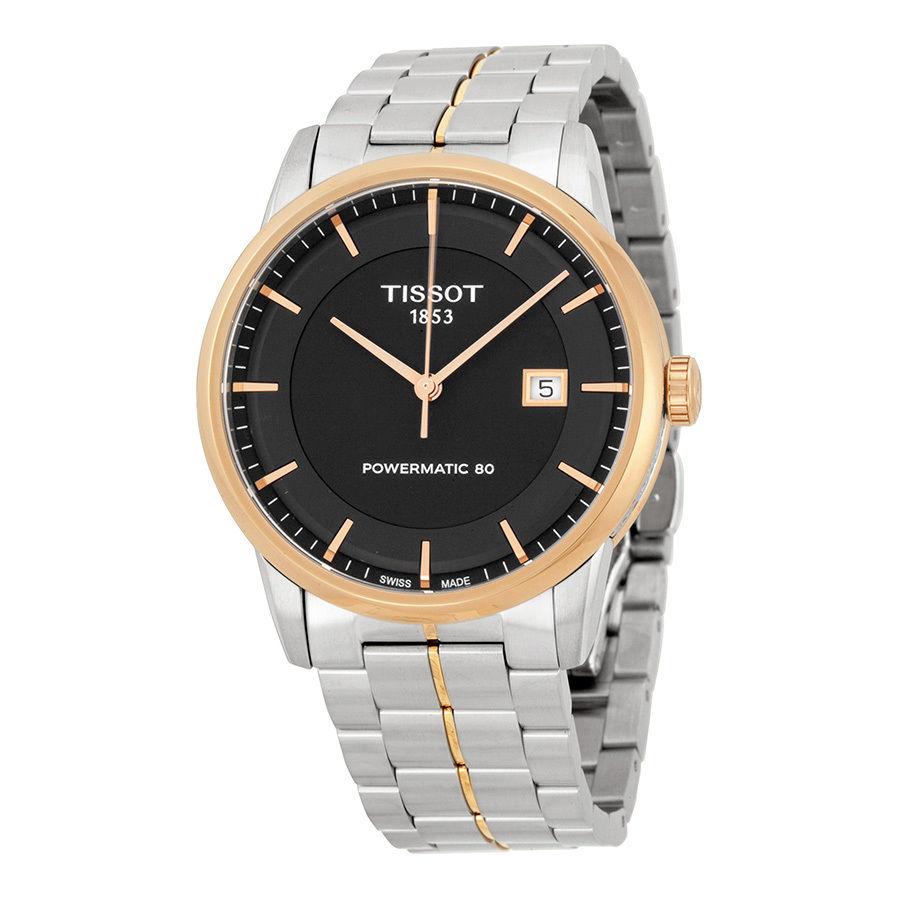 นาฬิกาผู้ชาย Tissot รุ่น T0864072205100, LUXURY POWERMATIC 80