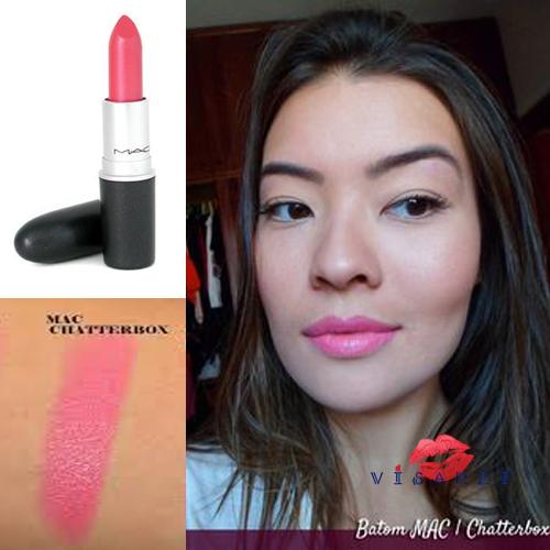 MAC Amplified Creme Lipstick 3g # Chatterbox