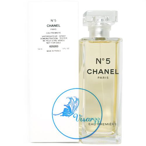 (กล่อง Tester ลดมากกว่า 30%) Chanel No.5 Eau Premiere EDP 150mL กลิ่นหอมที่ละเอียดอ่อน หรูหรา งามสง่าและอ่อนหวาน เพอร์เฟคสำหรับทุกโอกาส