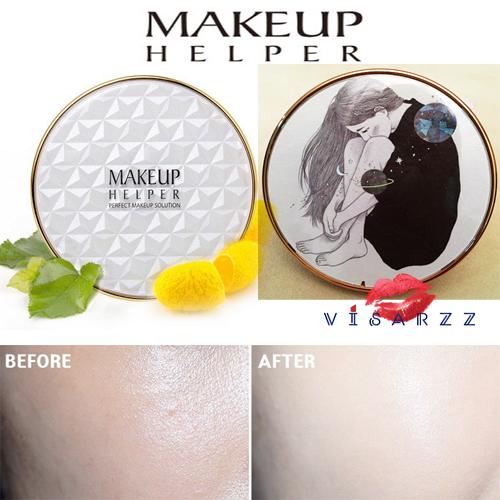 (#22 ตลับลาย My Universe) Makeup Helper Double Cushion Calendula Blossom SPF50+ /PA+++ คูชั่น แป้งน้ำลุ๊คฉ่ำสาวเกาหลีค่ะ ไม่เหนอะ ไม่มันไม่เยิ้ม ทาปุ๊ปแห้งปั๊ป โดยไม่ต้องเติมแป้ง ปกปิดได้อย่างดีแม้แผลเป็นที่ชัดมากๆ ไม่อุดตัน มาพร้อมกันแดด 50เท่า ตลับใหญ