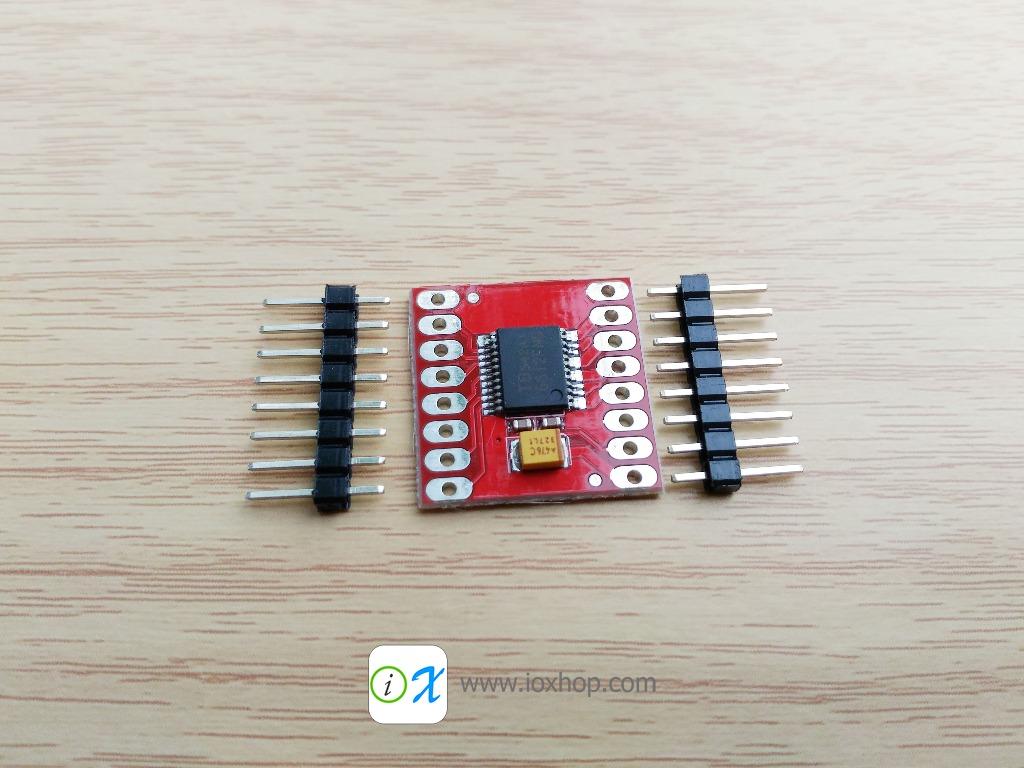 TB6612FNG Dual DC Stepper Motor Drive Controller Board Module