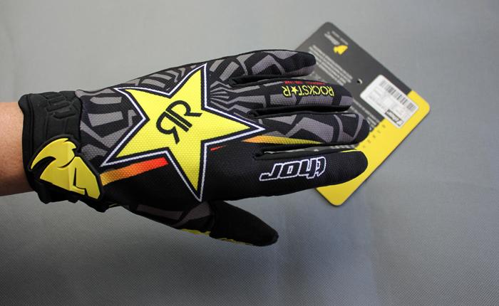 ถุงมือThor สีดำ-เหลือง