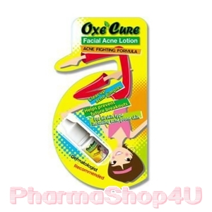 Oxe Cure Facial Acne Lotion 5mL โลชั่นแต้มสิว ซึมเร็ว ไม่มัน ไม่ทิ้งร่องรอย