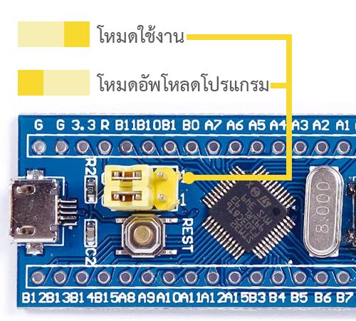 การใช้งาน STM32 ร่วมกับ Arduino เบื้องต้น : Inspired by LnwShop com