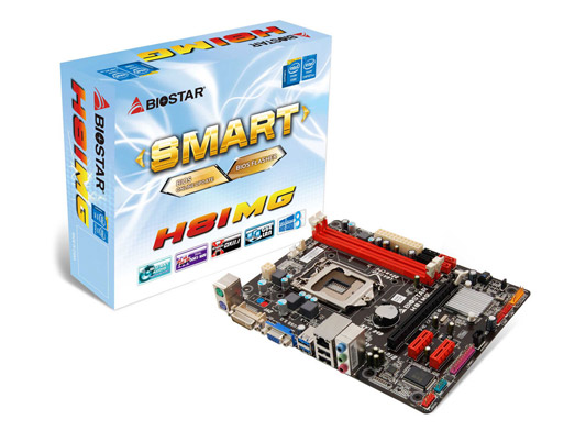 MAINBOARD 1150 BIOSTAR H81MG
