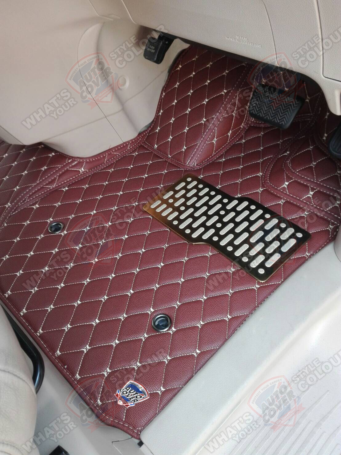 พรมรถยนต์ 6D Leather Car Mat ชุดเต็มคัน TOYOTA ALL NEW ALPHARD VELLFIRE