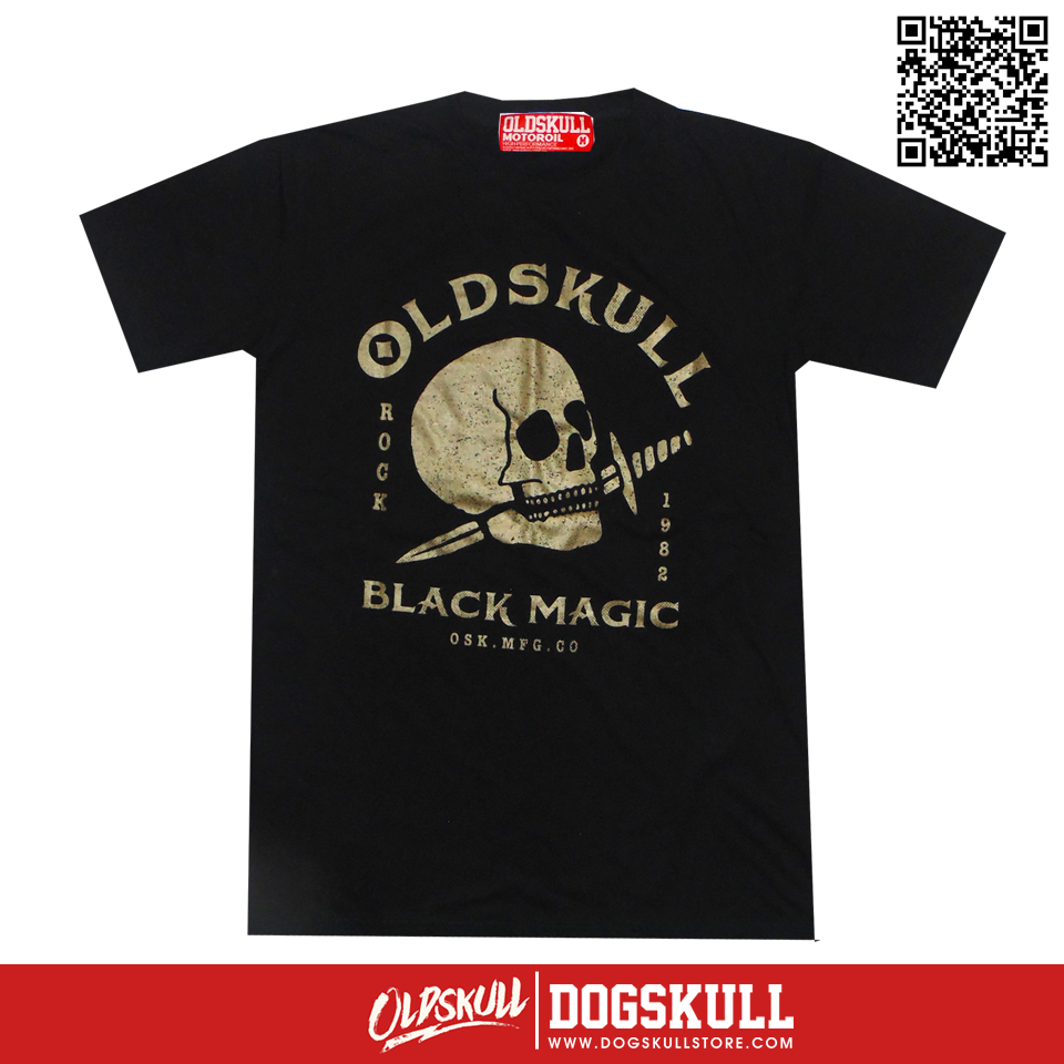เสื้อยืด OLDSKULL : ULTIMATE HD94 | BLACK