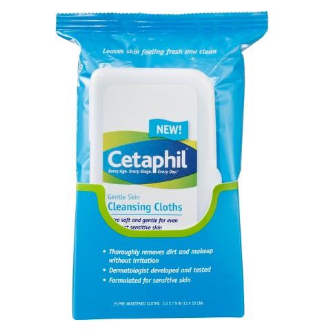 Cetaphil clean cloths 25pcs
