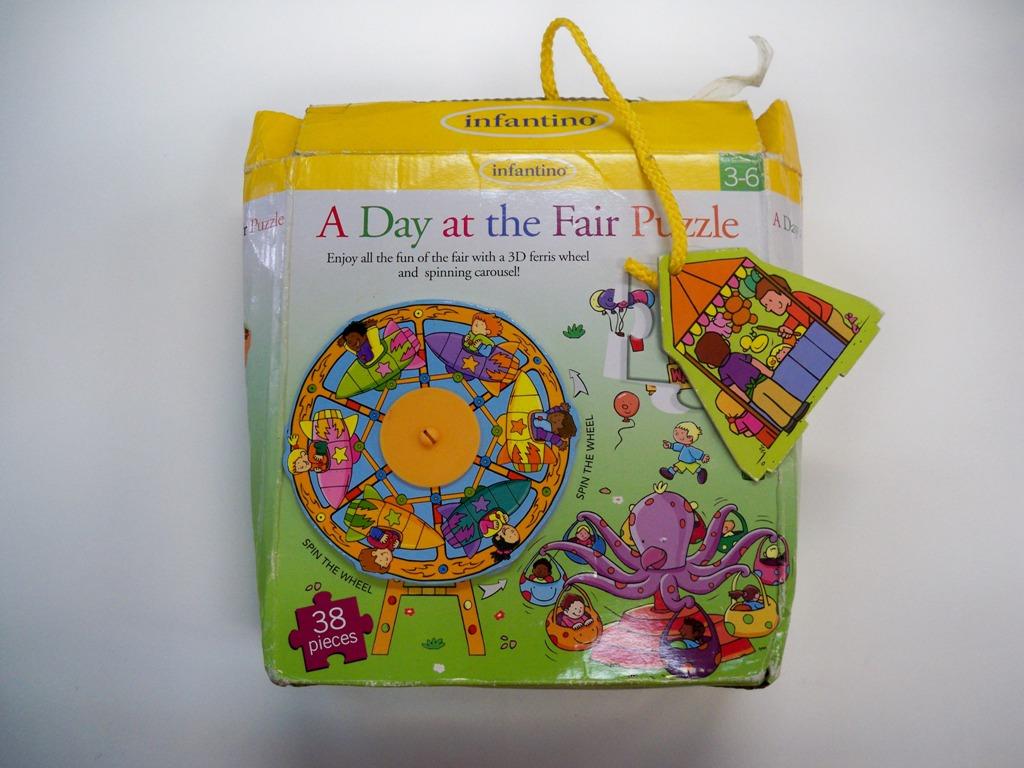 จิกซอ 3 มิติ A day at the fair puzzle 38 ชิ้น