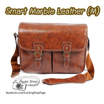 กระเป๋ากล้อง Smart Marble Leather Bag (ขนาดกลาง) (Pre)