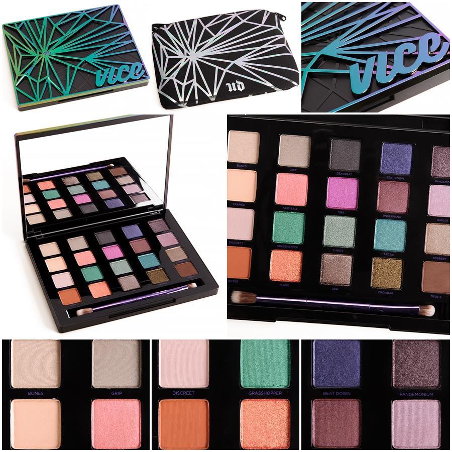 Urban Decay Vice 4 Palette พาเลทนี้เป็นพาเลทสีใหม่ทั้งหมด และเป็น Limited Edition