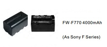 Batteries, Chargers, On-Camera Light Accessries, Cases & Bags FW-F770
