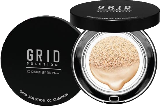 Grid Solution CC Cushion 15g. ตลับดำ