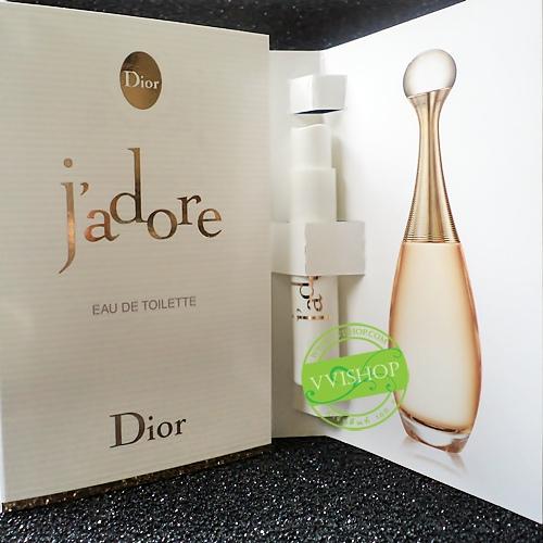Dior Jadore EDT 1 ml. มีเสน่ห์ โก้หรู เข้มแข็งและเด็ดเดี่ยว ใต้มนต์เสน่ห์ของน้ำหอมกลิ่นนี้ *พร้อมส่ง*