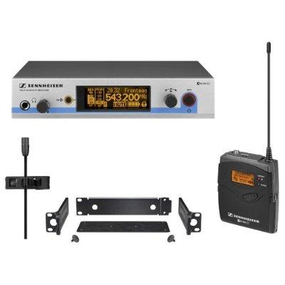 Sennheiser ew 512 G3 Wireless Lavalier Microphone System UHF Evolution G3 500 Series 566-608 MHz