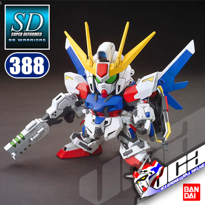 SD BB388 BUILD STRIKE GUNDAM FULL PACKAGE