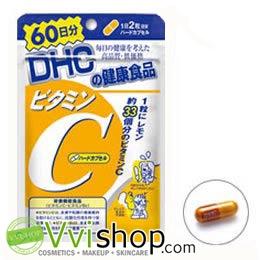 DHC Vitamin C 60 วัน (120 เม็ด) ผิวทั้งใบหน้าและลำตัว ขาว ใส เด้ง มีออร่า ลดเลือนจุดด่างดำ กระตุ้นการสร้างคอลลาเจน แก้ไข้หวัด ภูมิแพ้ *พร้อมส่ง*