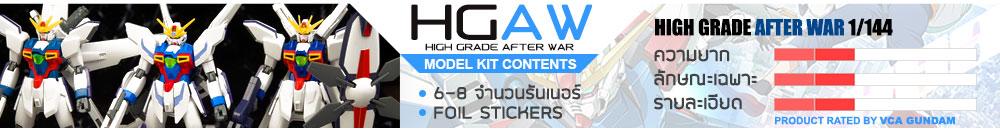 What is HGAW กันดั้ม กันพลา คืออะไร?
