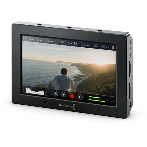 Blackmagic Video Assist 4K 7'' high resolution monitor with Ultra HD recorder ใหม่ล่าสุด