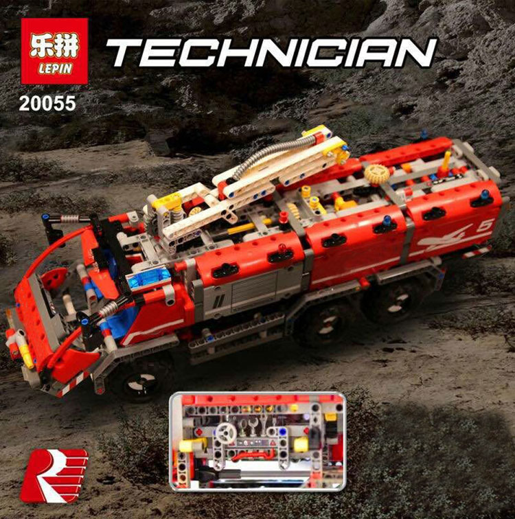 เลโก้จีน LEPIN 20055 ชุด Airport Rescue Vehicle