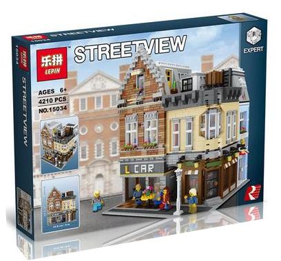 เลโก้จีน LEPIN 15034 Creator ชุด Potter Corner