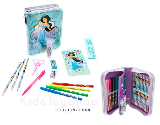 ชุดเครื่องเขียนJasmine Zip-Up Stationery Kit