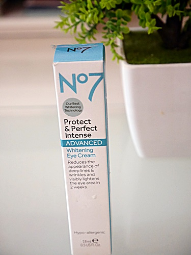 (พร้อมส่ง) No7 Protect & Perfect Intense ADVANCED Eye Cream