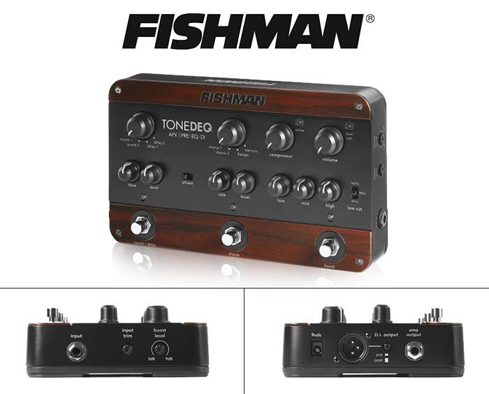 FISHMAN TONE DEQ PRE – AMP EQ