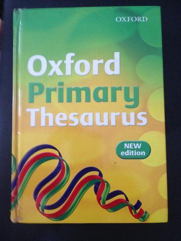 Oxford primary THESAURUS เป็น dictionary สำหรับ crossword