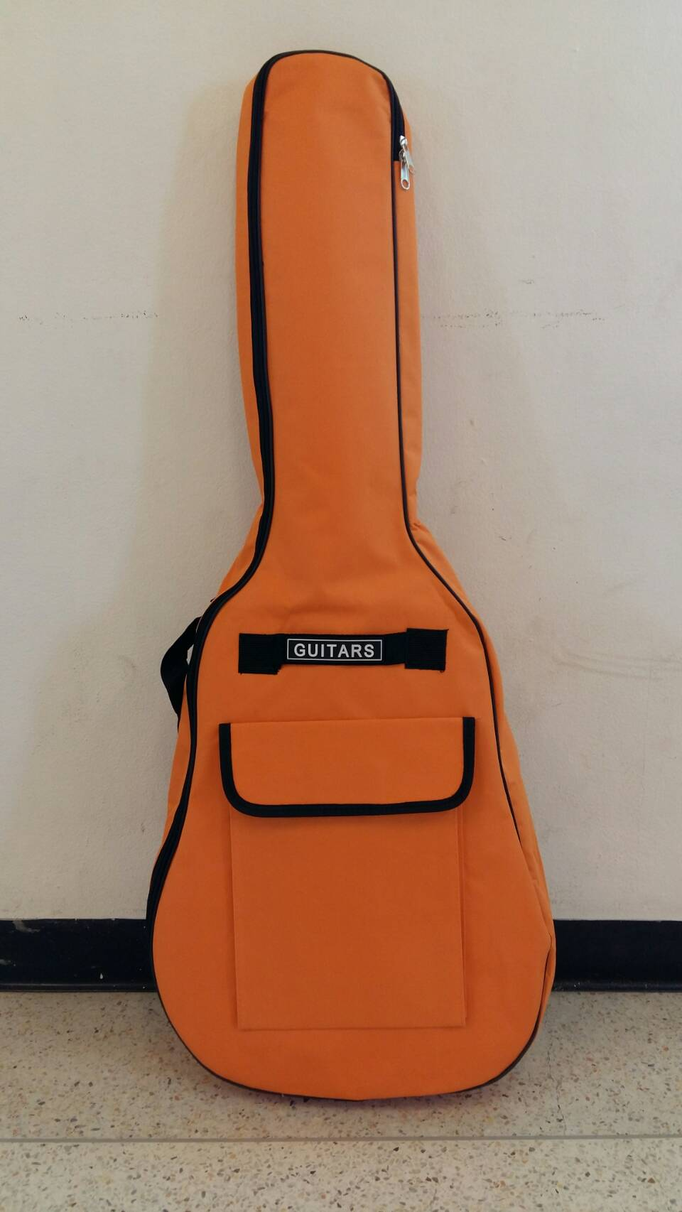 กระเป๋ากีตาร์บุฟองน้ำ สีส้ม ขนาด 41 นิ้ว