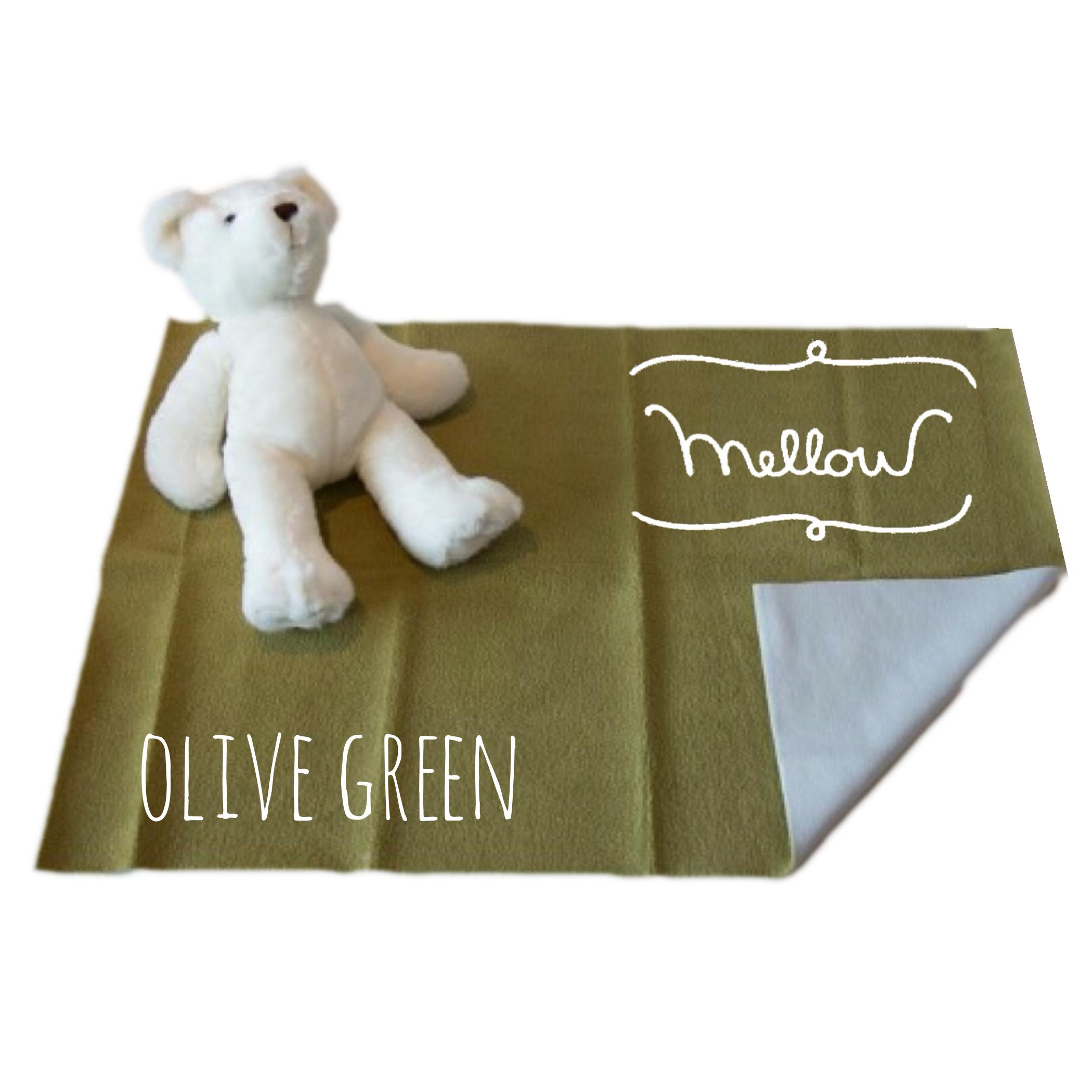 ผ้ารองกันฉี่ Mellow Quick dry SIZE S Olive