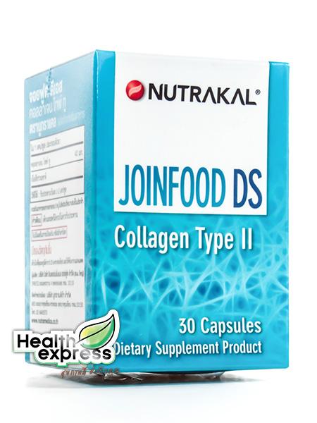 Nutrakal JoinFood DS Collagen Type II นูทราแคล จอยฟูด ดีเอส บรรจุ 30 แคปซูล
