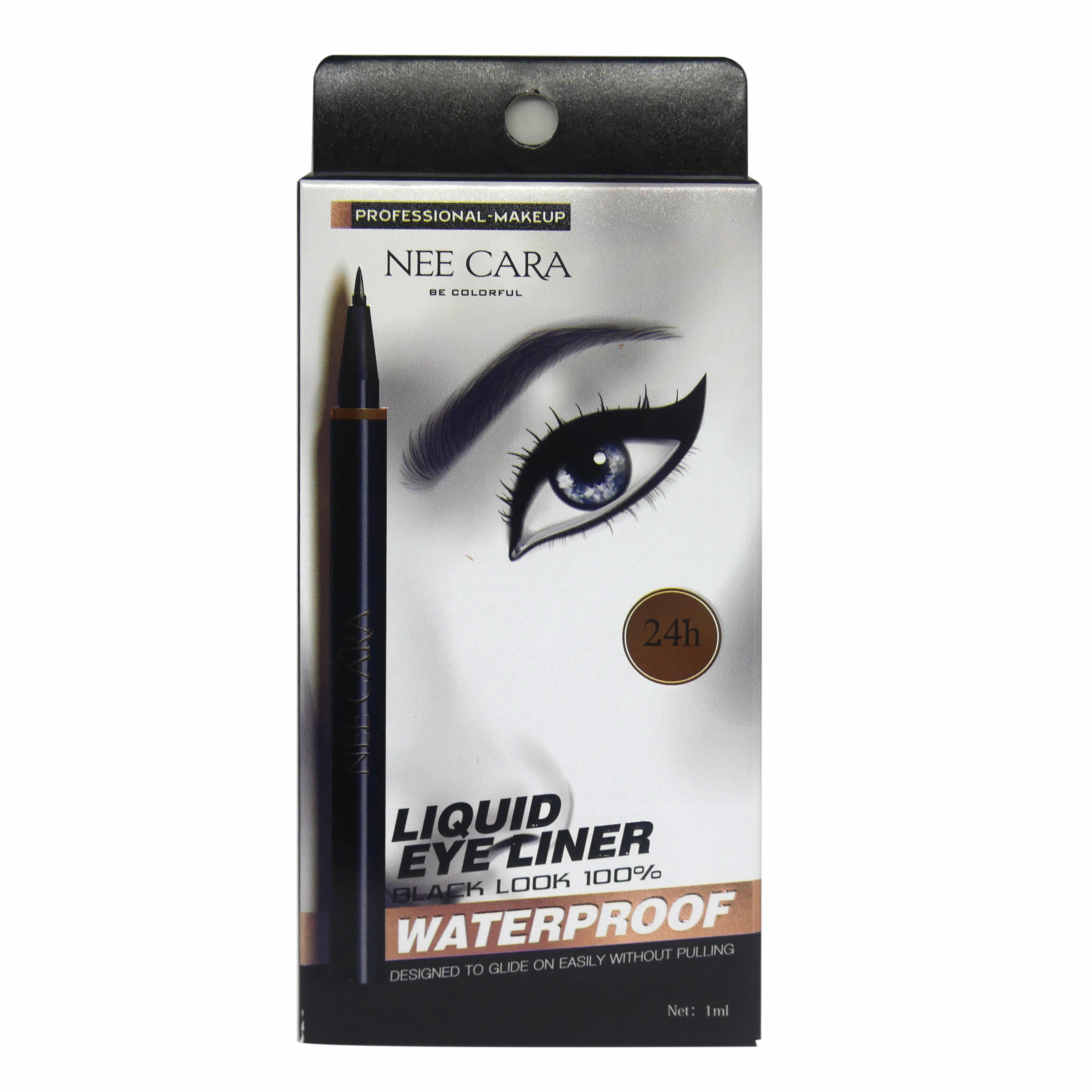 NEE CARA Liquid eye Liner Black Look