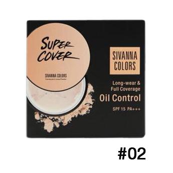 Sivanna Colors Long-wear Full coverage Oil control SPF15+ HF699 No.02