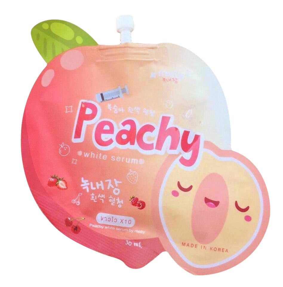 Pachy White Serum เซรั่มลูกพีชเกาหลี